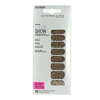 Maybelline Colour Show 18 Fashion Print Nail Stickers With File