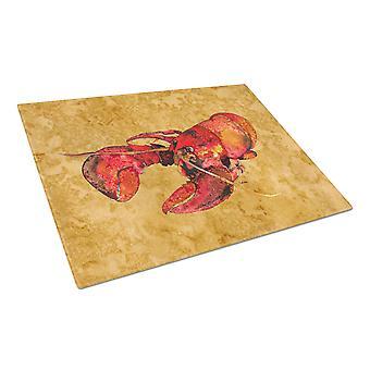 Carolines skarby 8715LCB Lobster szklana deska do krojenia dużych