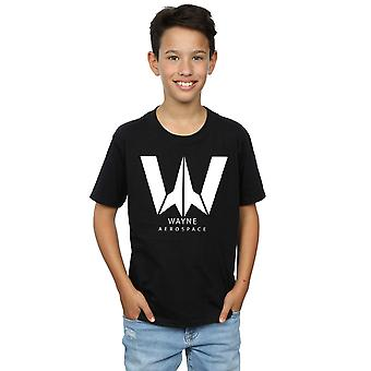 DC Comics Boys Justice League Movie Wayne Aerospace T-Shirt