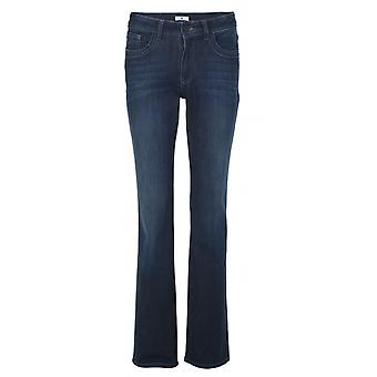 H.I.S women's jeans Coletta deep blue wash