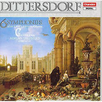 K.D.Von Dittersdorf - Karl Ditters Von Dittersdorf: 6 Symphonies After Ovid's Metamorphoses [CD] USA import