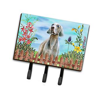 Carolines Treasures  CK1236TH68 Weimaraner Spring Leash or Key Holder