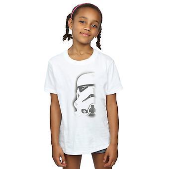 Star Wars Girls Stormtrooper Face T-Shirt