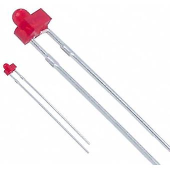 LED wired Red Circular 1.8 mm 12.6 mcd 3
