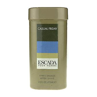 Escada Casual Friday Pour Homme After Shave 2.5Oz/75ml In Box
