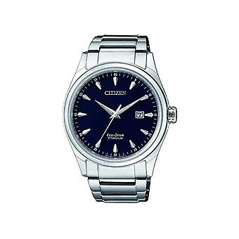 Citizen Herrenuhr Eco-Drive Super Titanium BM7360-82L