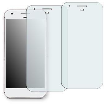 Google pixel screen protector - Golebo crystal-clear protector (deliberately smaller than the display, as this is arched)