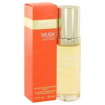 Jovan Musk Cologne Concentrate Spray By Jovan