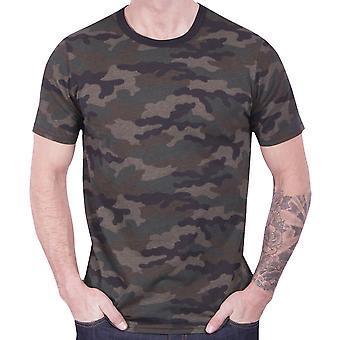 Grunt Style Camo Tee Cotton Blend Crewneck T-Shirt