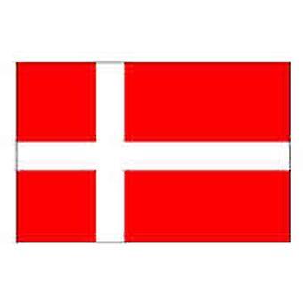Danmark Flag 5 ft x 3 ft med øjer til ophæng