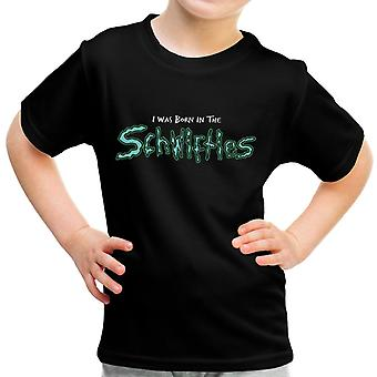 Rick And Morty Born In The Schwifties Kid's T-Shirt