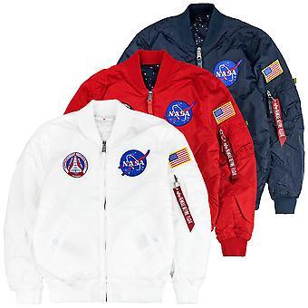 Alpha industries men's jacket MA-1 NASA TT reversible II