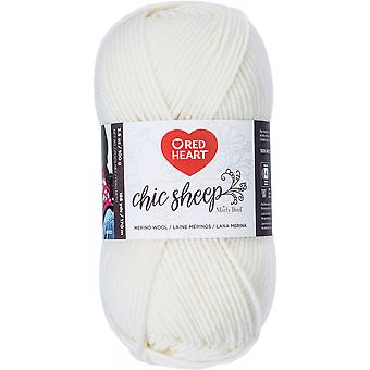 Red Heart Chic Sheep Yarn-Lace
