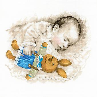 Sweet Dreams Counted Cross Stitch Kit-13.75