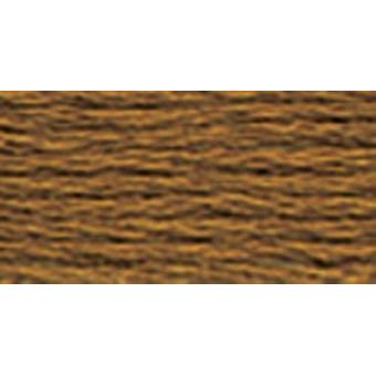 DMC 6-Strand Embroidery Cotton 100g Cone-Hazelnut Brown Very Dark