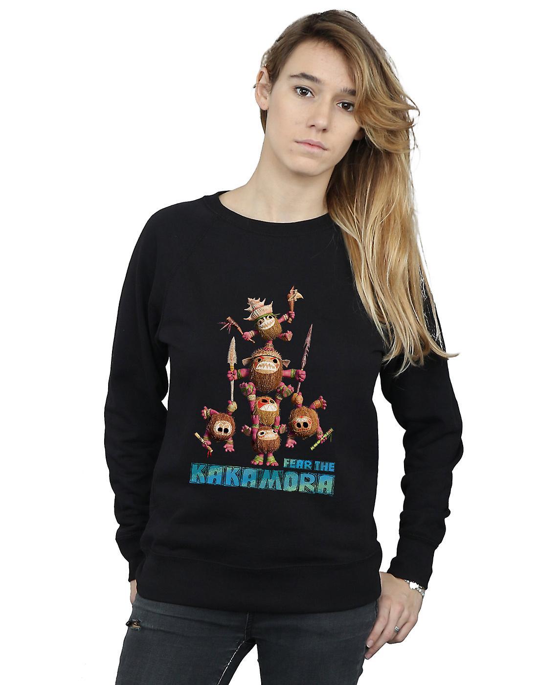 Moana peur Disney féminines le sweat-shirt Kakamora