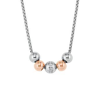дамы жемчужина s.Oliver цепи ожерелье нержавеющей стали биколор 2022656