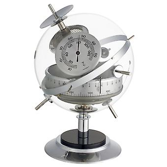 TFA Sputnik weather station for indoor, barometer, thermometer, hygrometer