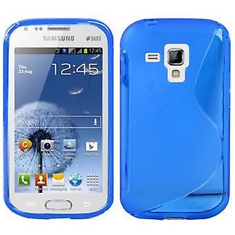 Handyhülle TPU-Schutzhülle für Samsung Galaxy Galaxy Trend Duos S7562 S7580 S7582 blau