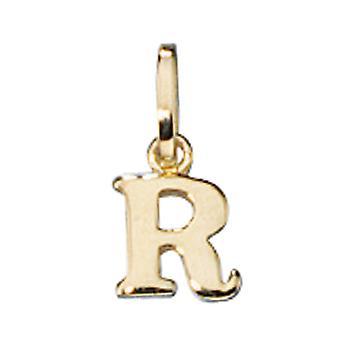 Trailer R 333 /-g-letter pendant-gold R letter gold R