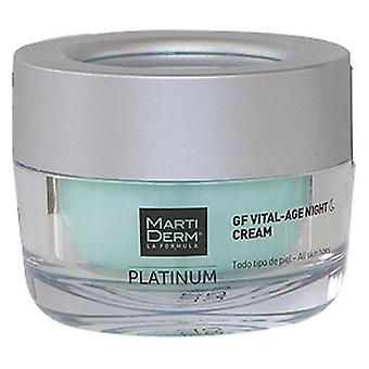 Martiderm Night Cream Platinum Vital Age 50 ml
