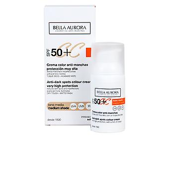 Bella Aurora Cc Cream Antimanchas Tono Medio Spf50 30ml Womens