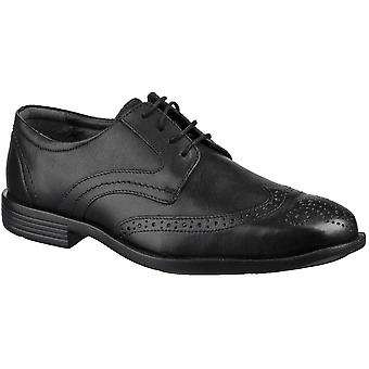 Grosvenor Mens Baldwin Wingtip Brogue Padded Lace Up Shoes