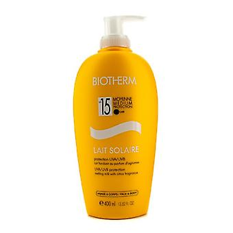Biotherm Lait Solaire SPF 15 UVA/UVB Protection Melting Milk 400ml/13.52oz
