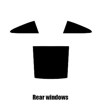 Предварительно вырезать окна оттенок - Porsche 911 Targa - 2001-2005 - задние окна