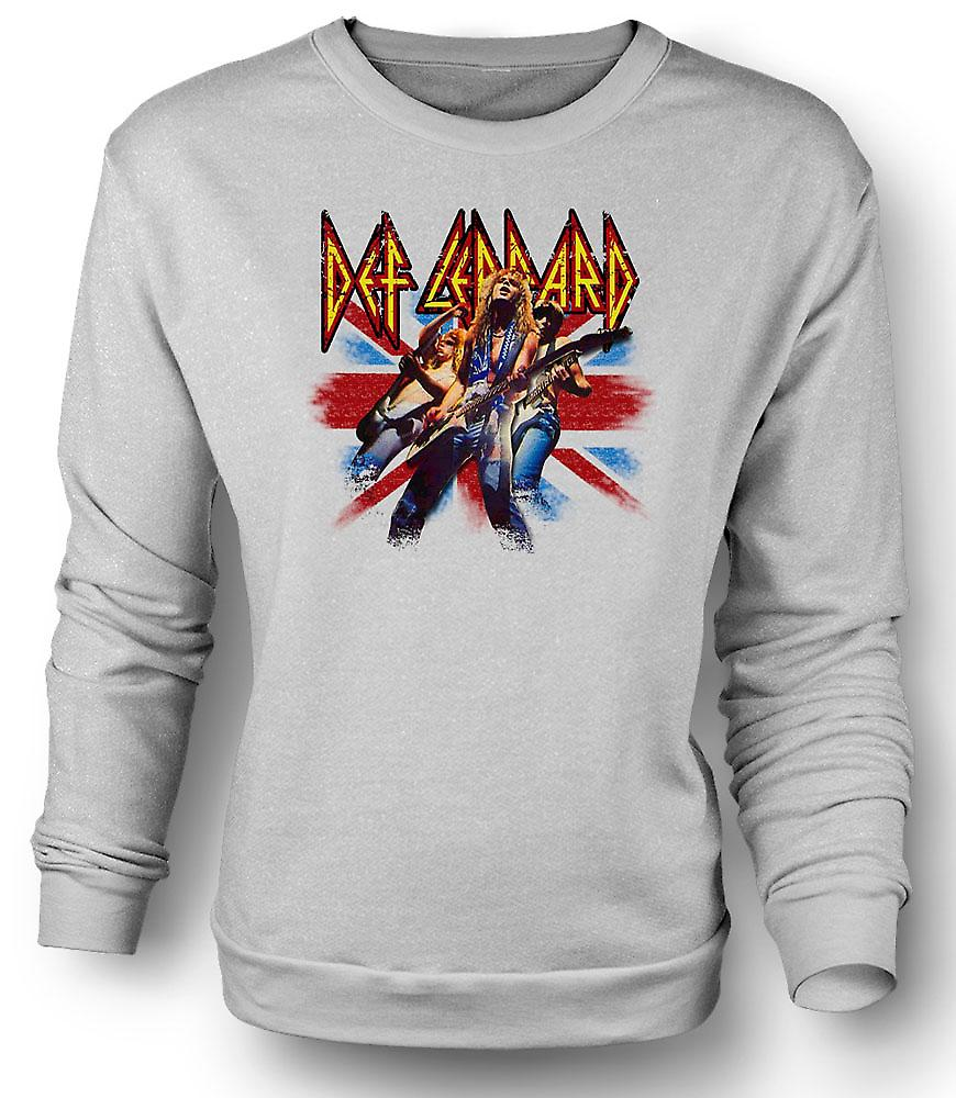 Mens Sweatshirt Def Leppard - Rock Britannique