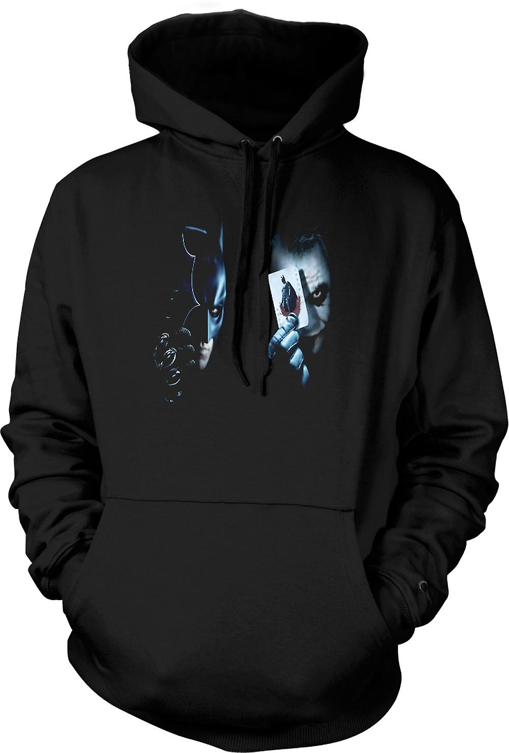 Mens Hoodie - Batman - Showing Cards