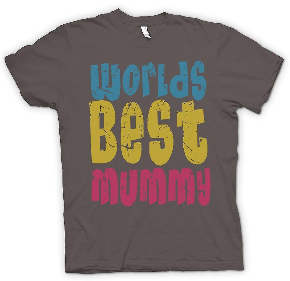 Mens T-shirt - Worlds Best Mummy - Funny