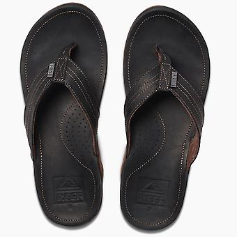 Reef Mens Waterproof Leather Sandals ~ J-Bay III Noche