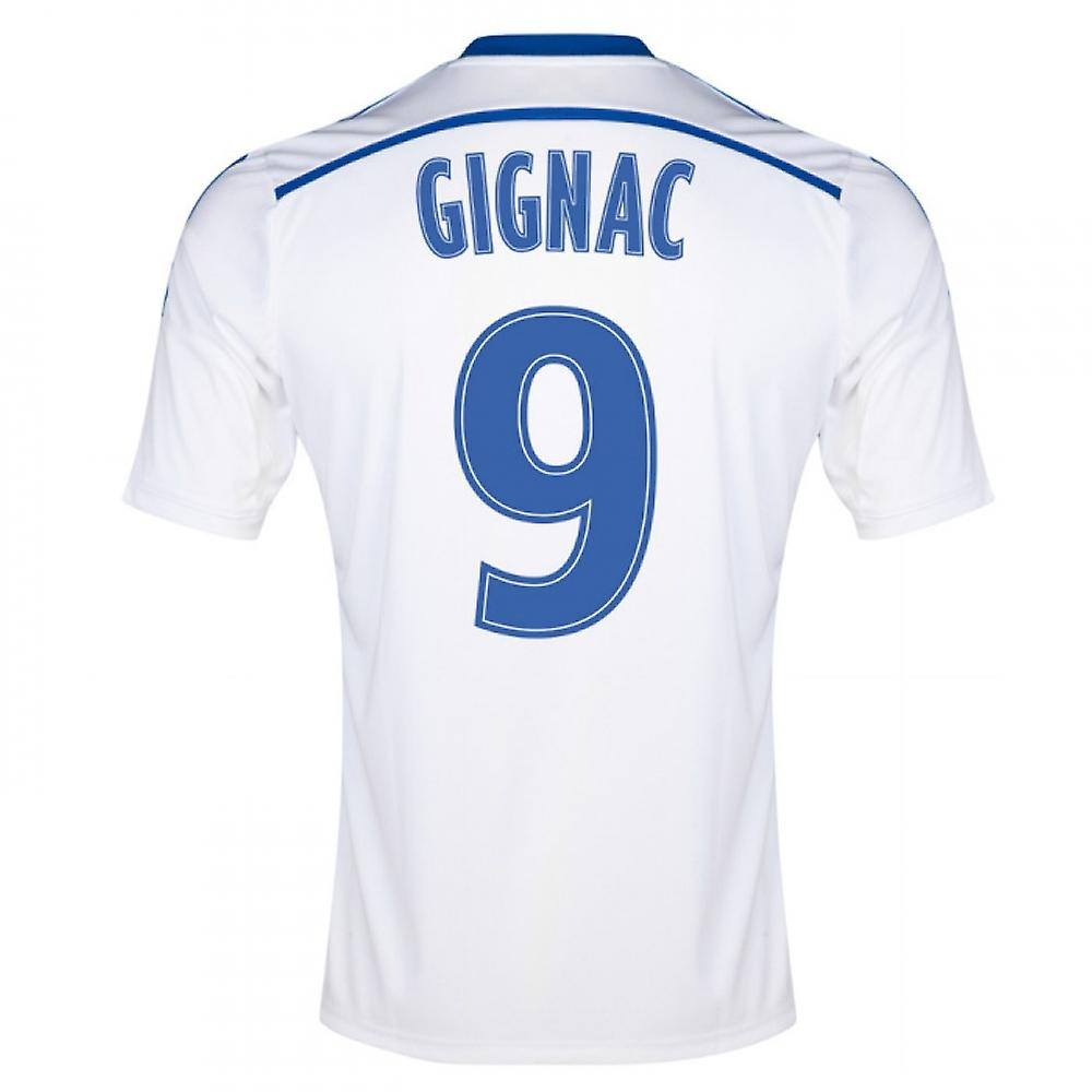 2014-15 Marseille Home Shirt (Gignac 9) - Kids