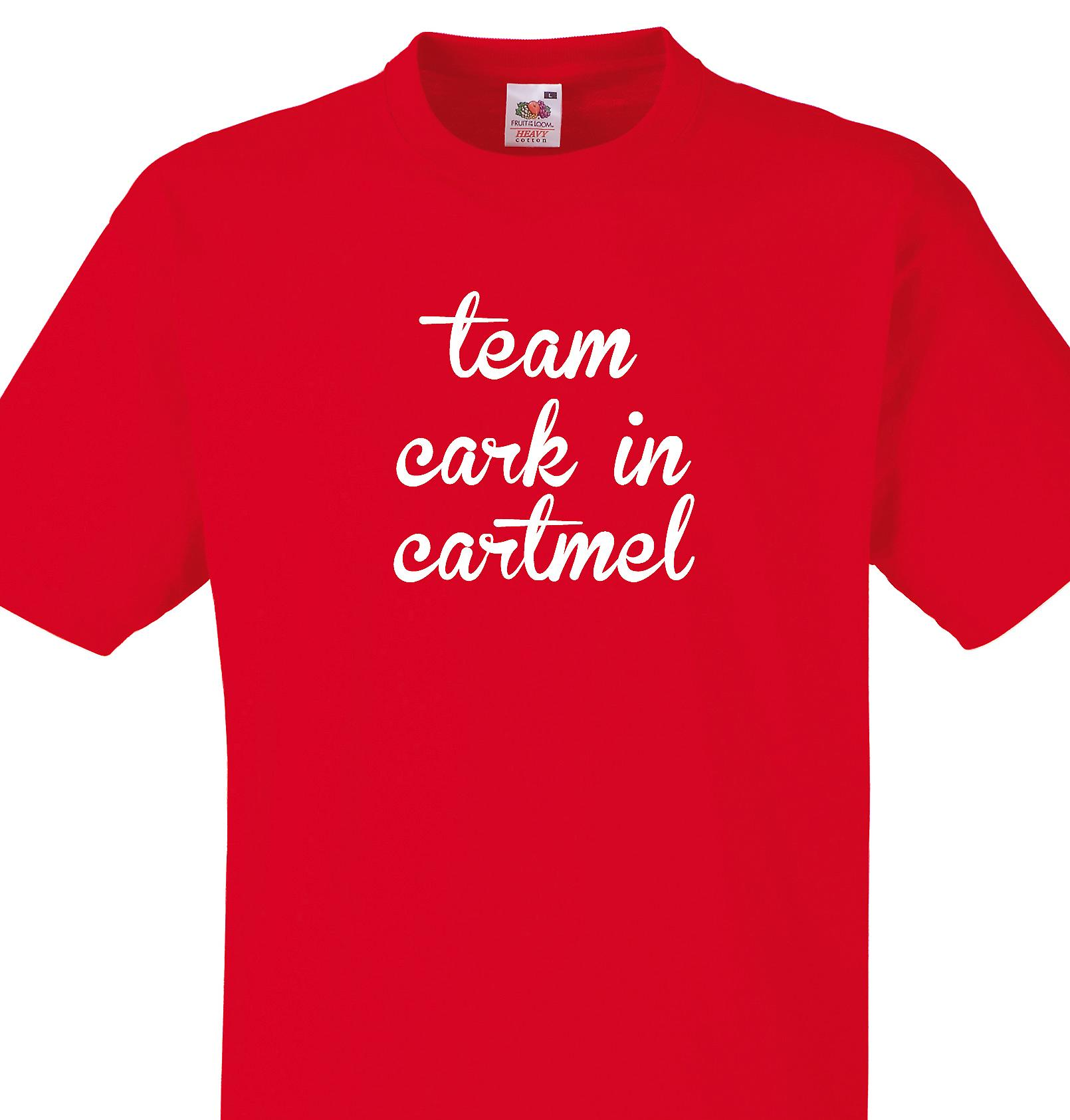 Team Cark in cartmel Red T shirt