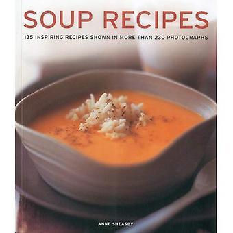 Soppa recept: 135 inspirerande recept visas i mer än 230 fotografier