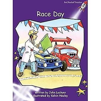 Race Day: Level 3: Fluency (Red Rocket Readers: Fiction Set B)