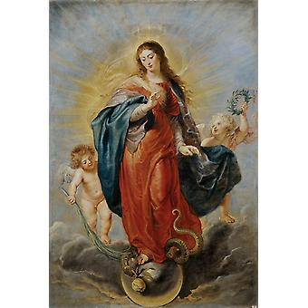 Immaculate Conception,Peter Paul Rubens,60x40cm