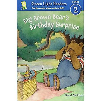 Surpresa de aniversário do urso-pardo grande (GLR nível 2)