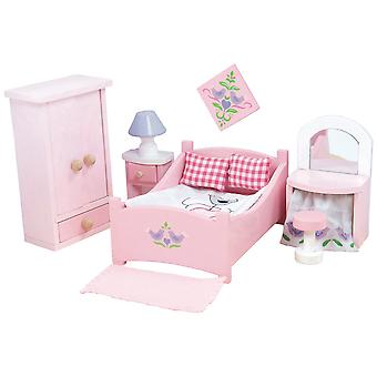Le Toy Van Doll House Sugar Plum Bedroom