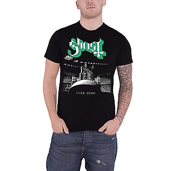 Ghost T Shirt Year Zero Band Logo Prequelle new Official Mens Black