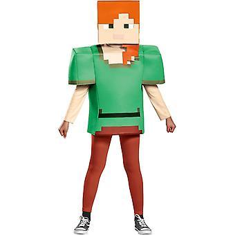 أليكس Minecraft زي للبنات