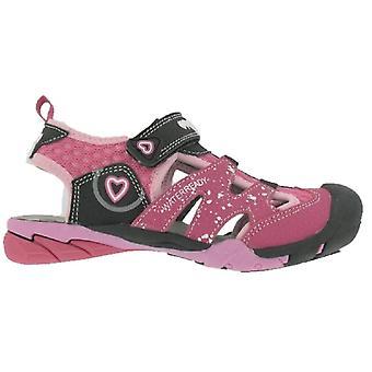 Primigi meninas 3462100 PAQ 34621 sandálias rosa preto