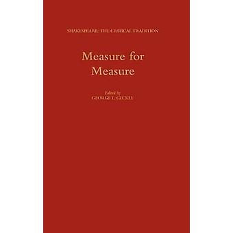 Measure for Measure by Geckle & George L.