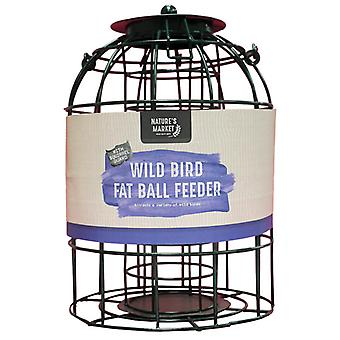 Natures Market BF008FB Squirrel Guard Hanging Fat Ball Feeder