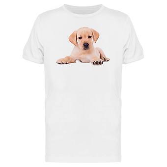 Labrador Retriever cachorrinho sentado Tee MASC-imagem por Shutterstock
