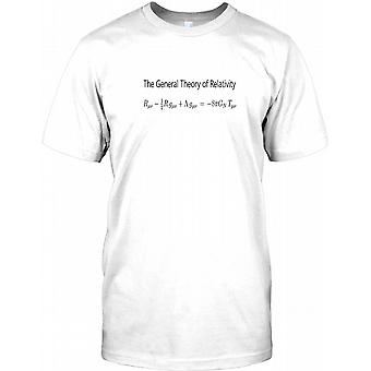 General Theory Of Relativity - Cool Einstein Equation Mens T Shirt