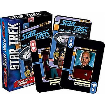 Jeu Star Trek Next Generation de cartes à jouer -nm-