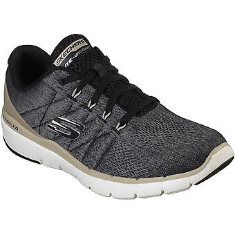 Skechers Mens Flex Advantage 3.0 Stally Lace Up Trainers