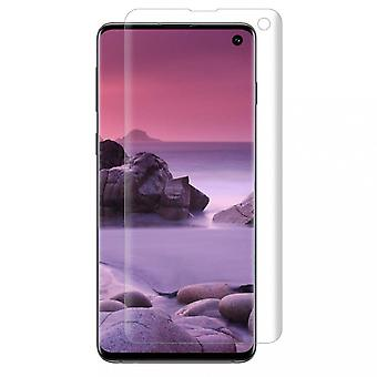 Comprehensive Samsung S10 Screen protector in plastic fingerprint